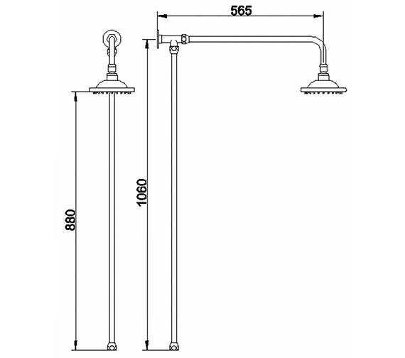 Technical drawing QS-V38649 / A3600