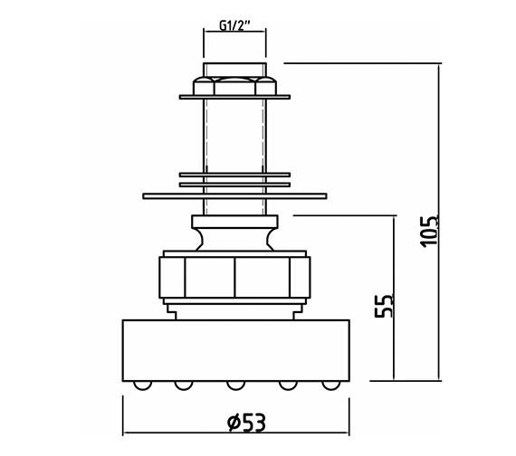 Technical drawing QS-V38654 / A354