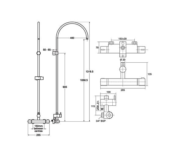 Technical drawing QS-V38666 / UNDOTHBMDIV