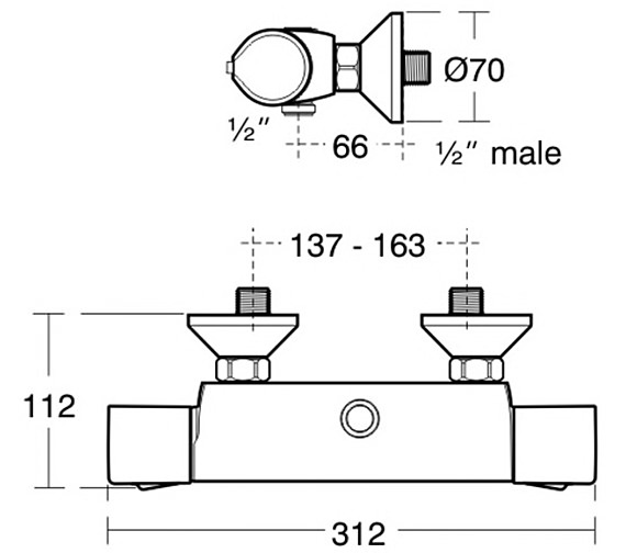 Technical drawing QS-V38683 / A4049AA