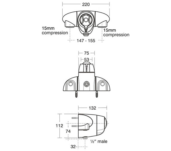 Technical drawing QS-V38691 / A3101AA