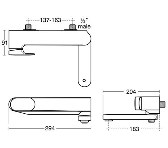 Technical drawing QS-V38701 / A3914AA