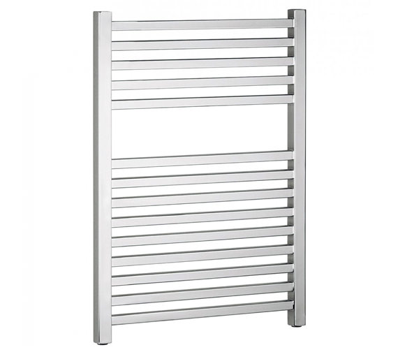 Bauhaus Magnum Straight Towel Rail Chrome 500 x 690mm - MG50X69C