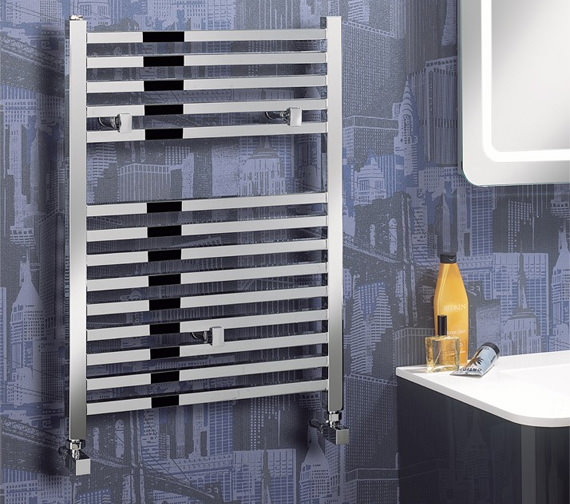 Alternate image of Bauhaus Magnum Straight Towel Rail Chrome 500 x 690mm - MG50X69C
