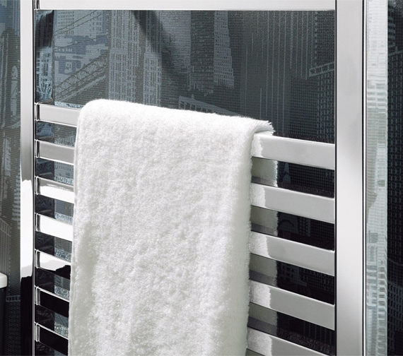 Alternate image of Bauhaus Magnum Chrome Straight Towel Rail 500 x 1110mm - MG50X111C