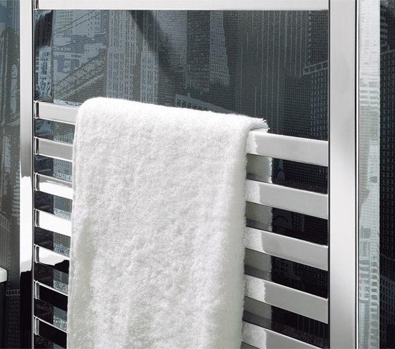 Alternate image of Bauhaus Magnum Chrome Straight Towel Rail 500 x 1110mm - MG50X111C