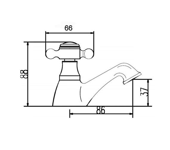 Technical drawing QS-V38735 / BD301