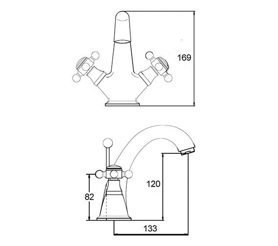 Technical drawing QS-V38738 / BD305