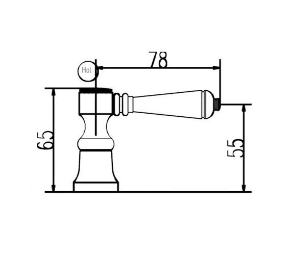 Technical drawing QS-V38739 / BD301