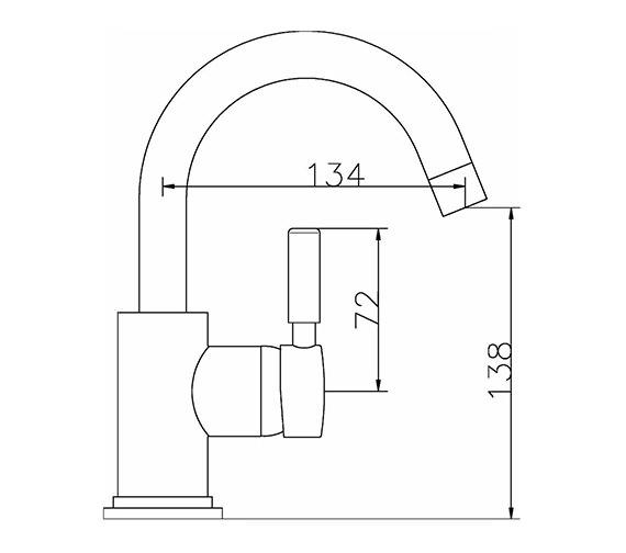 Technical drawing QS-V38763 / PN386