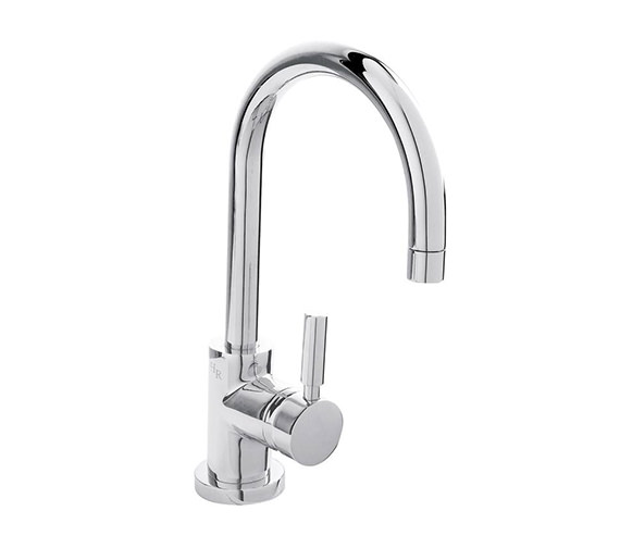Hudson Reed Tec Single Lever Side Action Basin Mixer Tap