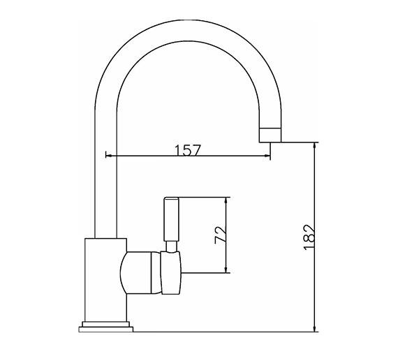 Technical drawing QS-V38764 / PN380