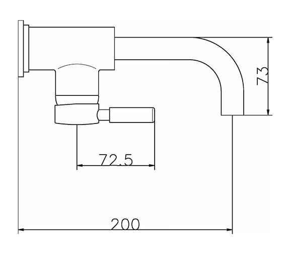 Technical drawing QS-V38765 / PN381