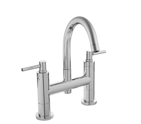 Hudson Reed Tec Bath Filler Tap With Small Swivel Spout