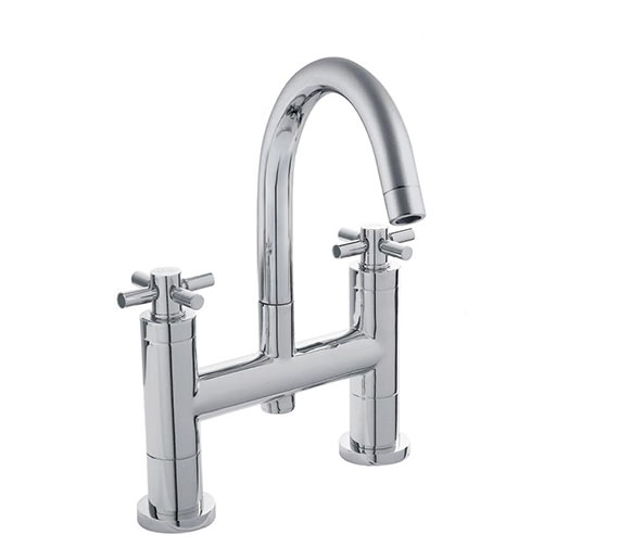 Hudson Reed Tec Crosshead Bath Filler With Small Spout - TEX353