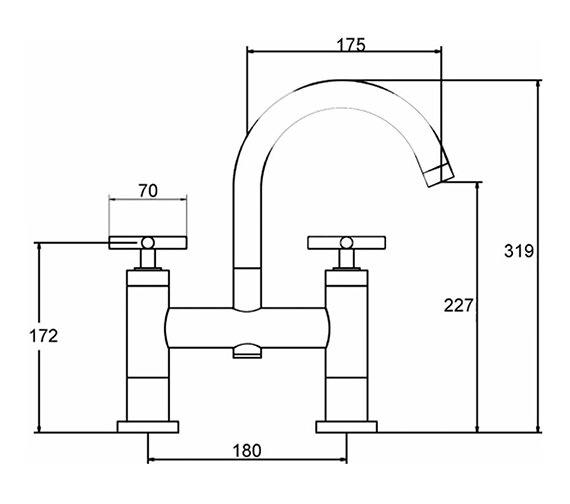 Technical drawing QS-V38787 / TEX353