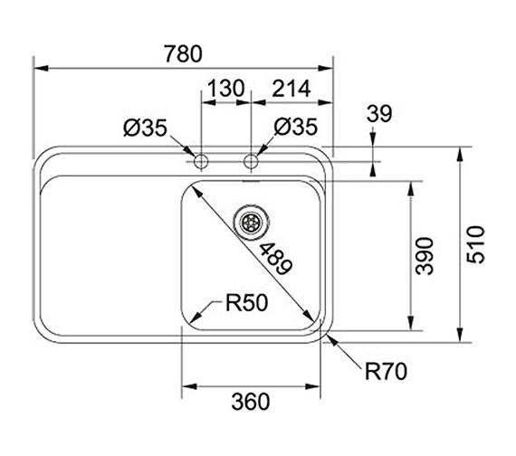 Technical drawing QS-V38813 / 1270364681