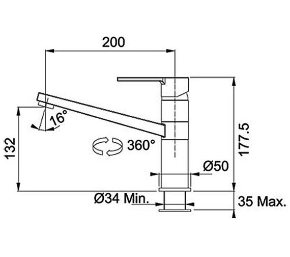 Technical drawing QS-V38814 / 1150263762