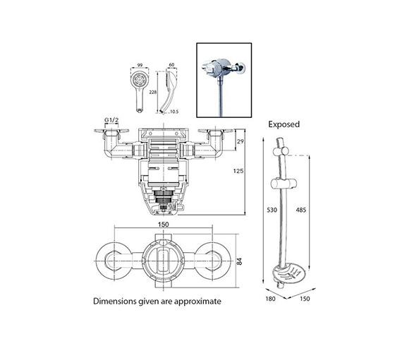Technical drawing QS-V39023 / ECODATHCM