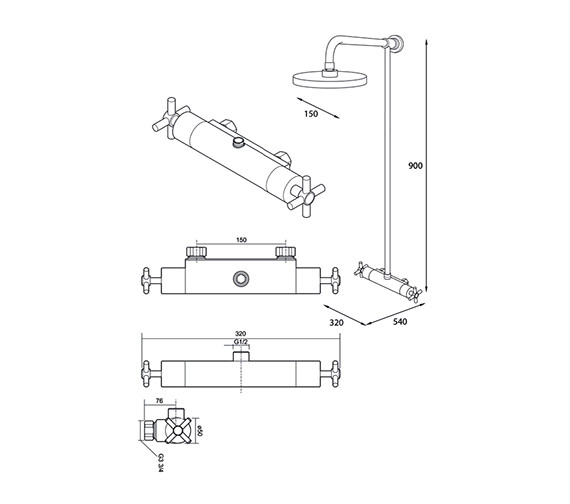 Technical drawing QS-V39033 / UNMETHBMFH