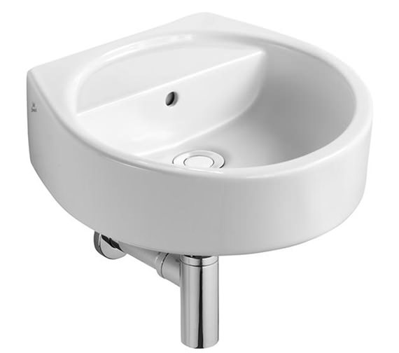 Ideal Standard White Round Handrinse Basin 400mm Wide - E011901