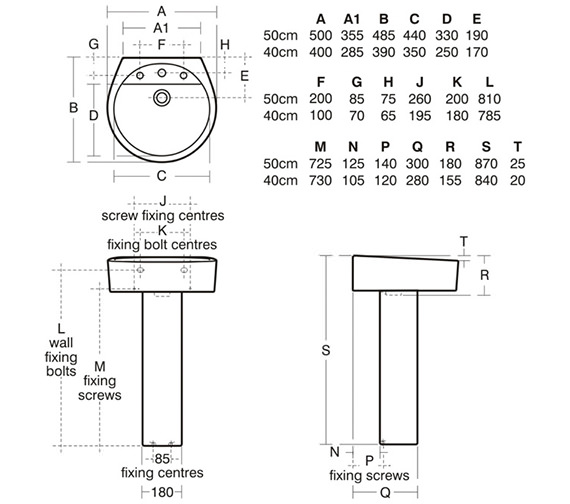 Technical drawing QS-V39080 / E011901