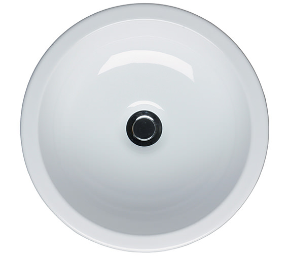 Ideal Standard White Round Vessel Basin 400mm Wide - E000601