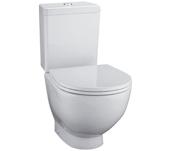 Ideal Standard White Close Coupled Back To Wall WC With Cistern 680mm