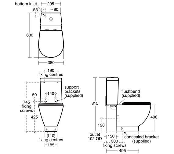 Technical drawing QS-V39085 / E000101