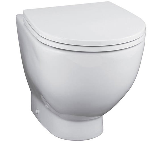 Ideal Standard White Back To Wall WC Pan 530mm - E000101