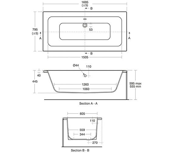 Technical drawing QS-V39090 / E002301