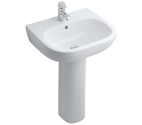 Ideal Standard Jasper Morrison 550mm Basin With Full Pedestal