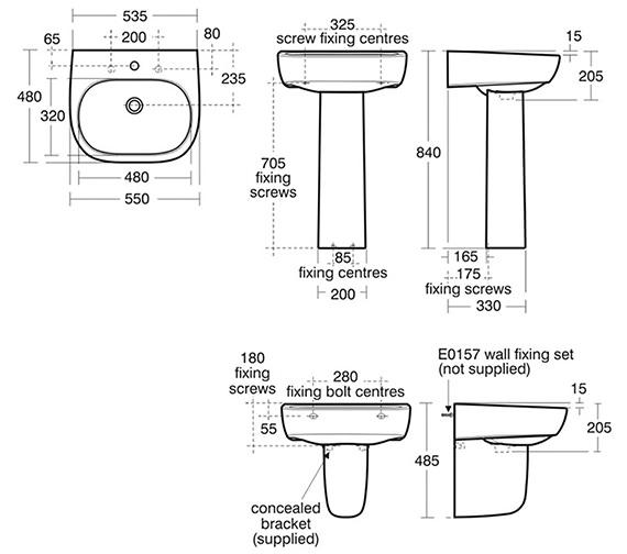 Technical drawing QS-V39091 / E618701