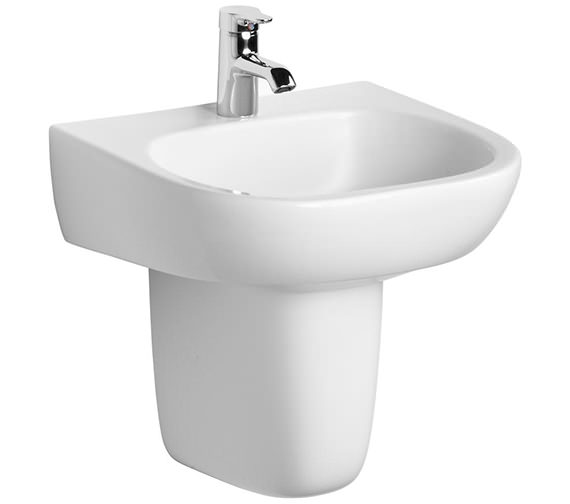 Ideal Standard Jasper Morrison 500mm Basin With Semi Pedestal Image