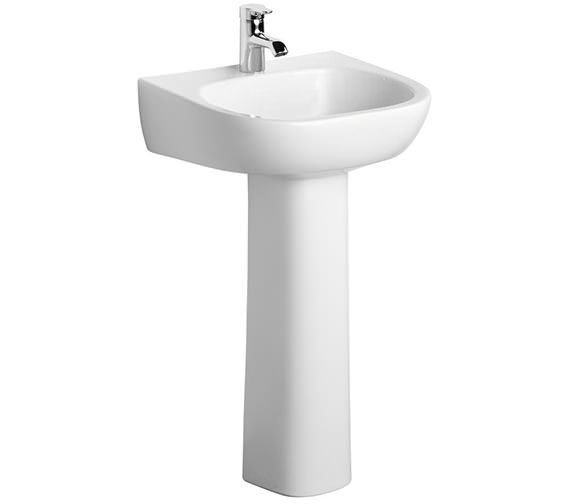 Ideal Standard Jasper Morrison 500mm Basin With Full Pedestal