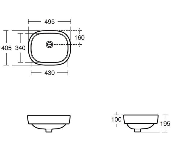 Technical drawing QS-V39095 / E621001