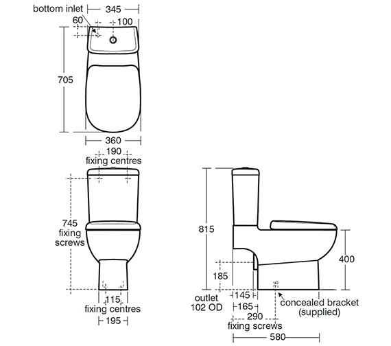 Technical drawing QS-V39096 / E622001