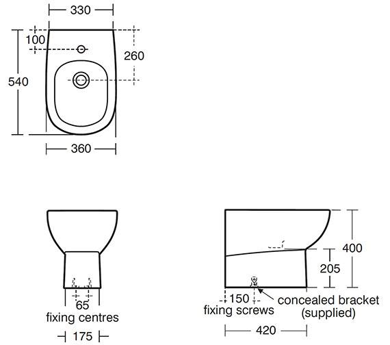 Technical drawing QS-V39099 / E622301