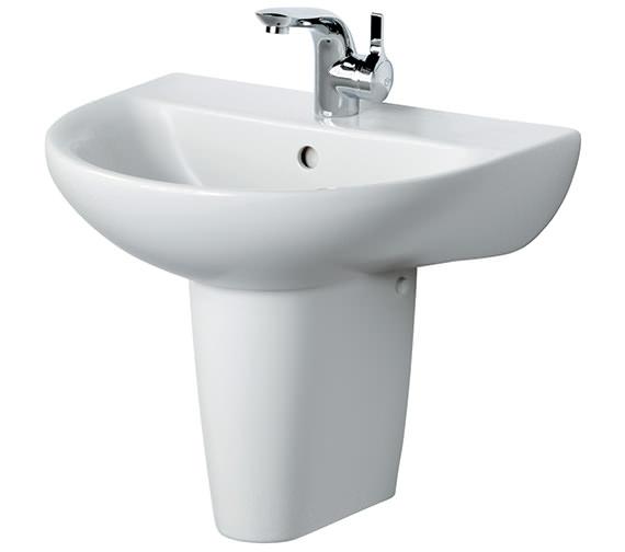 Ideal Standard Create Edge 550mm Semi Pedestal Basin
