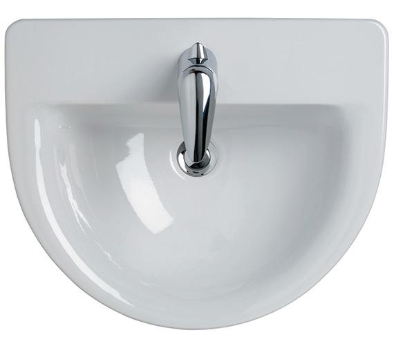 Ideal Standard Create Edge 560mm Semi Countertop Basin - E304701