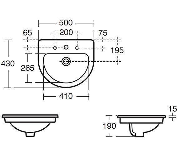 Technical drawing QS-V39132 / E307201