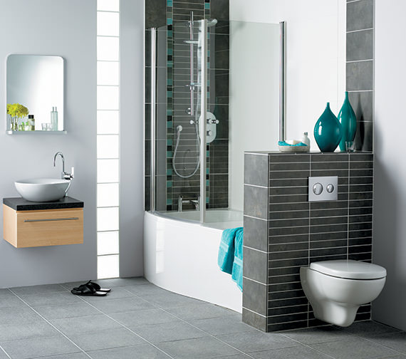 Additional image of Ideal Standard Create Edge Wall Hung WC Pan 540mm - E301401