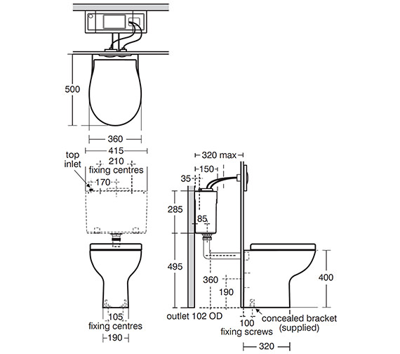Technical drawing QS-V39135 / E301301