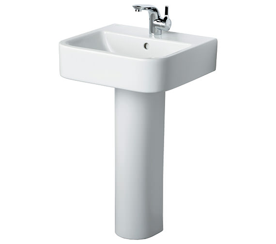 Ideal Standard Create 500mm Square Basin With Pedestal