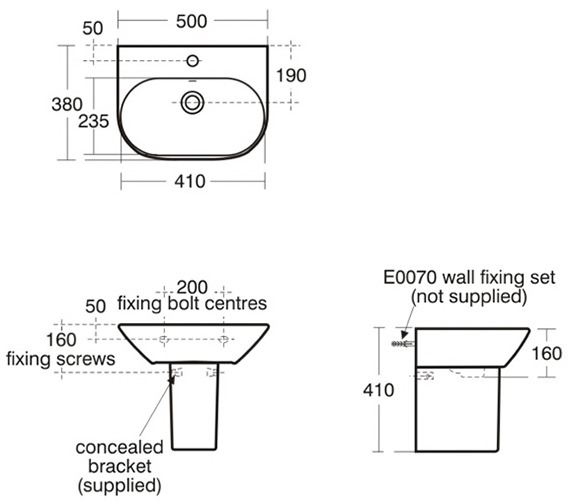 Technical drawing QS-V39156 / K068601
