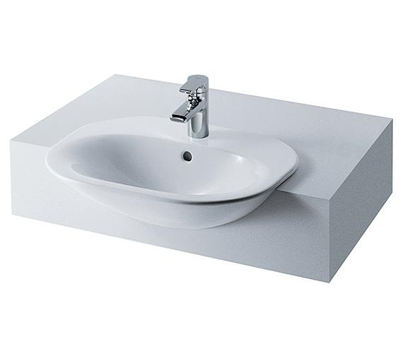 Ideal Standard Tonic 600mm Semi Countertop Washbasin - K070101