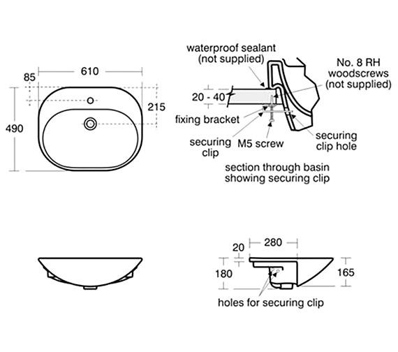 Technical drawing QS-V39157 / K070101