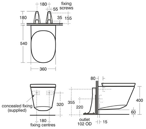 Technical drawing QS-V39159 / K310101