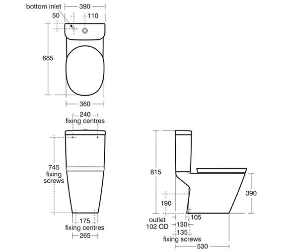 Technical drawing QS-V39161 / K310401