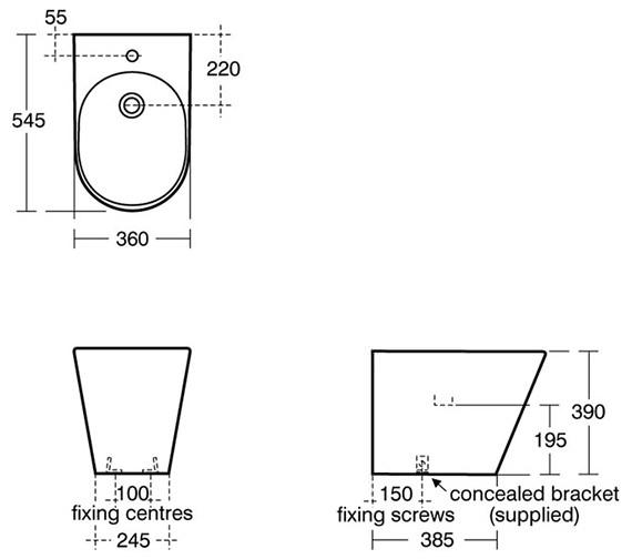 Technical drawing QS-V39163 / K506001